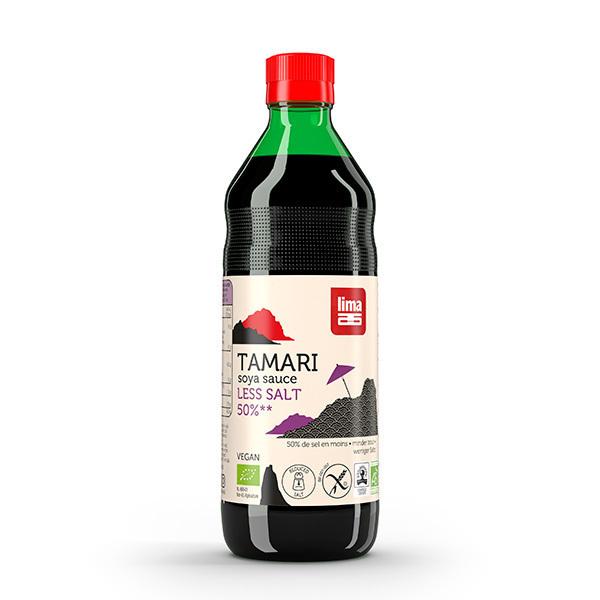 Lima - Sauce tamari - 50% sel en moins 500ml