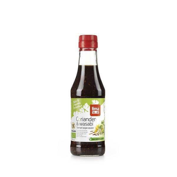 Lima - Sauce tamari - Coriandre wasabi 250ml
