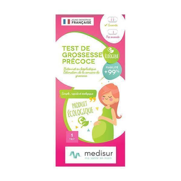 Medisur - Test de grossesse précoce écologique