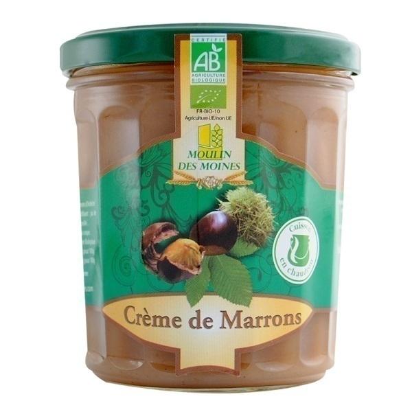 Moulin des Moines - Crème de Marron d'Ardèche BIO 370g