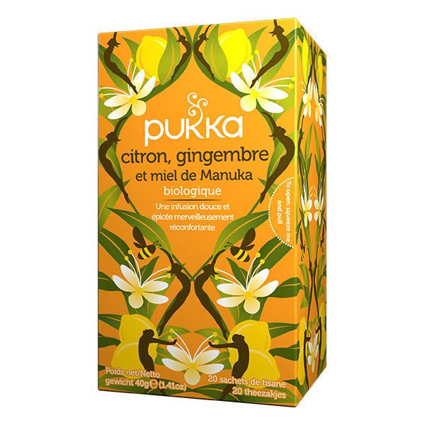Pukka - Offre Tisanes Citron, Gingembre et Manuka x 2