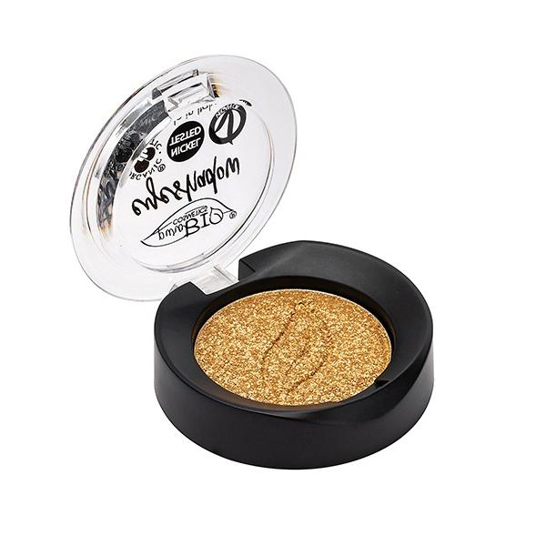PuroBIO Cosmetics - Fard à paupières doré clair irisé n°24