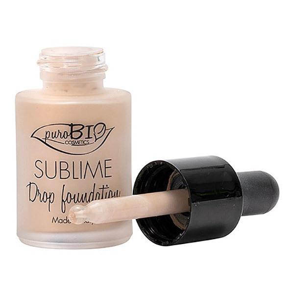 PuroBIO Cosmetics - Fond de teint Sublime Drop n°02