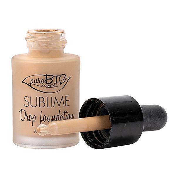 PuroBIO Cosmetics - Fond de teint Sublime Drop n°03