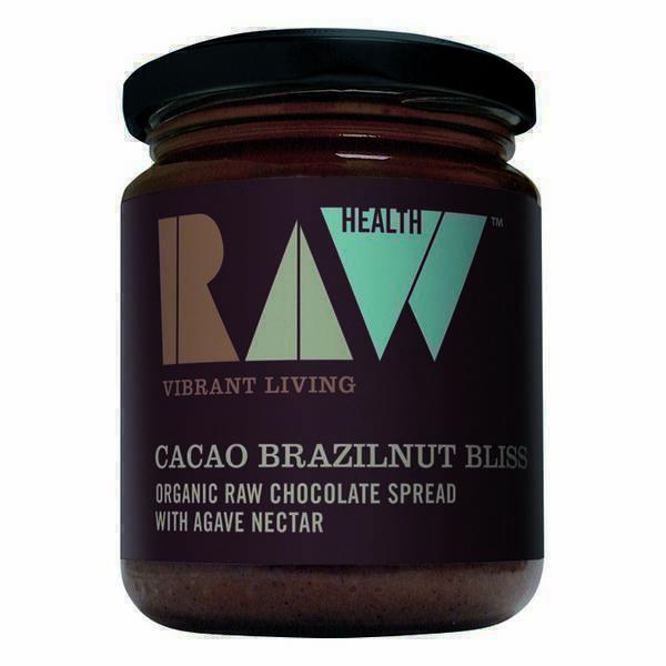 RAW HEALTH - Purée noix du Brésil et cacao cru 170g