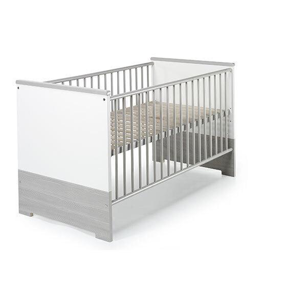 Schardt - Lit bébé évolutif Eco Silver 70 x 140 cm