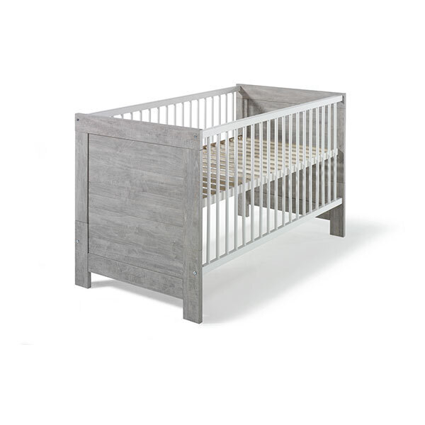 Schardt - Lit bébé évolutif Nordic Driftwood 70 x 140 cm