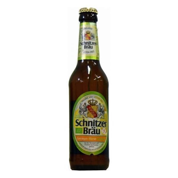 Schnitzer Bräu - Bière panaché au millet et citron 33cl