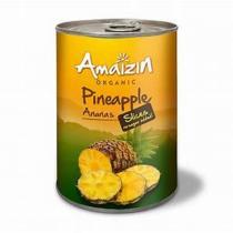 Amaizin - Ananas bio en tranches - 400g