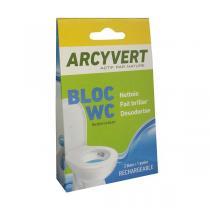 Arcy Vert - 2 Blocs WC avec Panier