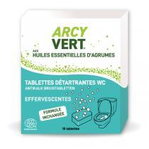 ArcyVert - Boîte 10 tablettes WC détartrantes 250g