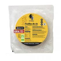 Autour du Riz - Feuilles de riz 22cm-150g