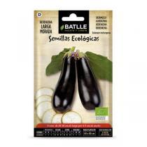 Batlle - Graines d'aubergine longue violette bio