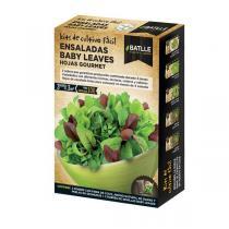 Batlle - Kit pour potager urbain Salade jeunes pousses Gourmet 100g