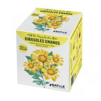 Batlle - Kit de culture Happy Garden tournesol nain jaune 250g