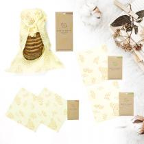 Bee's Wrap - Pack découverte 5 emballages réutilisables Original