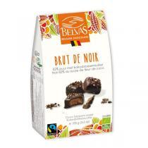Belvas - Bonbons chocolat Brut de Noir 100g