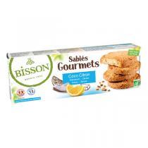 Bisson - Sablés gourmets coco citron 150g