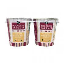Douceurs Basques - Yaourt brebis citron 2 x 125g