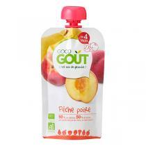 Good Gout - Lot de 2 x Gourde de Fruits Pêche Poire dès 4 mois de 120g