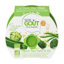 Good Gout - Assiette Légumes Verts et Perles de Blé dès 12 mois x 220g