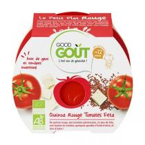 Good Gout - Assiette Quinoa Rouge Tomate Feta dès 12 mois x 220