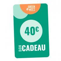 Greenweez Club - Chèque cadeau 40 Euros