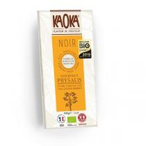 Kaoka - Tablette chocolat noir Physalis 55% 100g