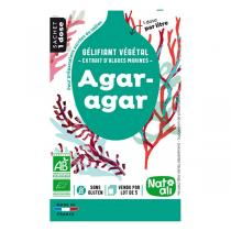 Natali - Agar-agar bio - 5 sachets de 4g