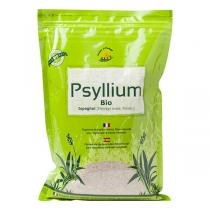 Nature & Partage - Lot de 2 x Psyllium Ispaghul Bio - 2x 1kg
