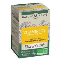 Nature & Santé - Vitamine D3 Bio x 90 comprimés