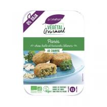 Végétal Gourmand - Panés chou kale haricots blanc 180g