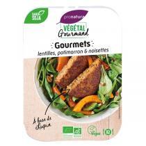 Végétal Gourmand - Gourmets lentilles potimarron et noisettes 180g