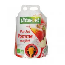 Vitamont - Pur jus de pomme non filtré - 3 l