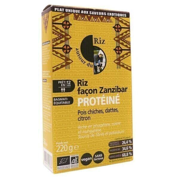 Autour du Riz - Riz proteine facon Zanzibar 220g