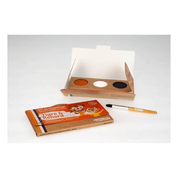 Namaki - Kit de maquillage Tigre & Renard - 3 couleurs
