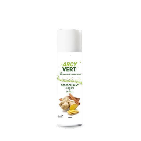 ArcyVert - Spray désodorisant Gingembre Cannelle 200ml