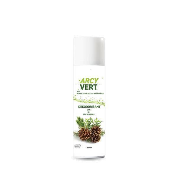ArcyVert - Spray désodorisant Pin Eucalyptus 200ml