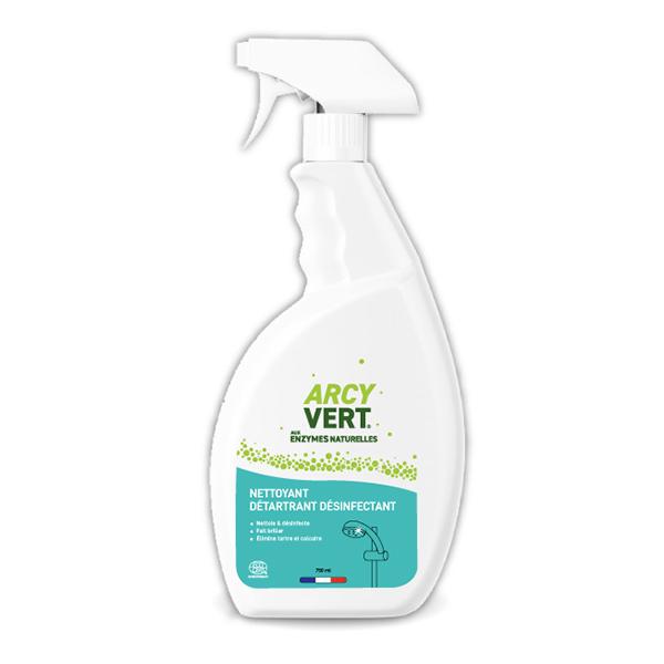 ArcyVert - Spray nettoyant détartrant désinfectant 75cl