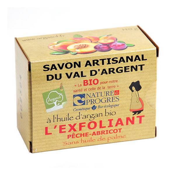Argasol - Savon artisanal exfoliant 140g