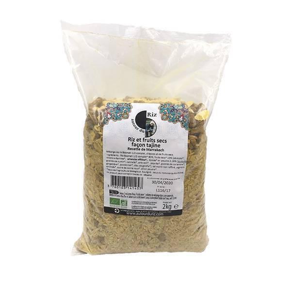 Autour du Riz - Mélange riz et fruits secs façon tajine 2kg
