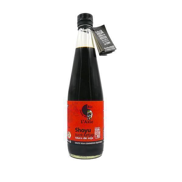 Autour du Riz - Shoyu sauce soja sucrée Ketjap 600ml