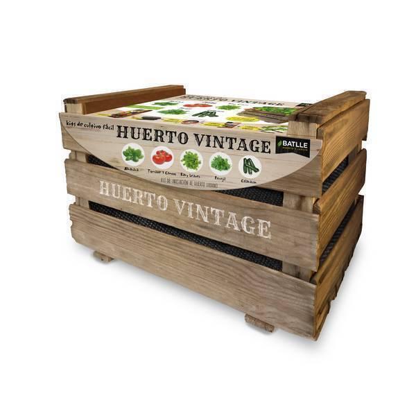 Batlle - Kit de culture pour potager urbain Vintage