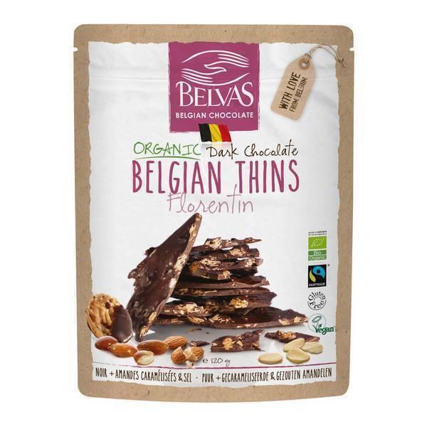 Belvas - Belgian Thins Florentine 120g