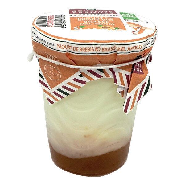 Douceurs Basques - Yaourt brebis miel abricot brassé 140g