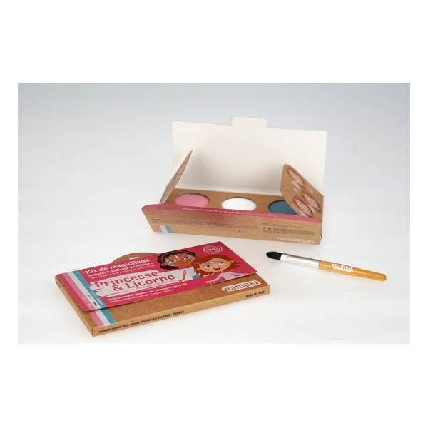 Namaki - Kit de maquillage Princesse & Licorne - 3 couleurs