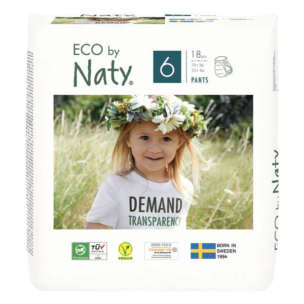 Eco by Naty - 18 Culottes d'apprentissage - T6, 16+ kg