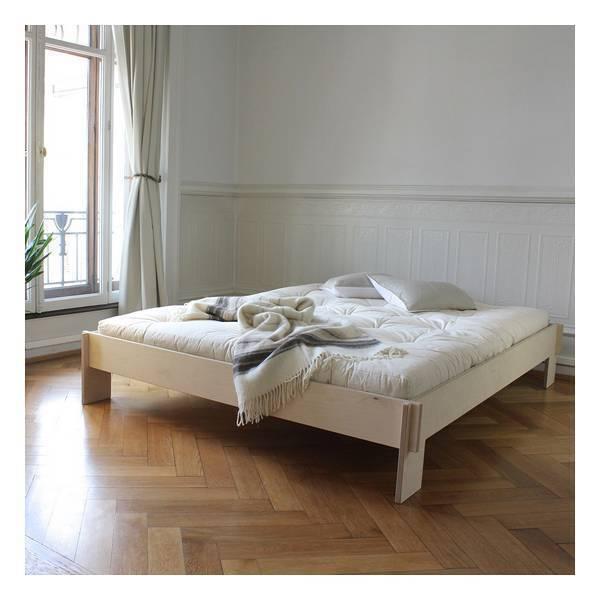 lit en bois 4.21 sans tête de lit 180 x 200cm | europe et nature