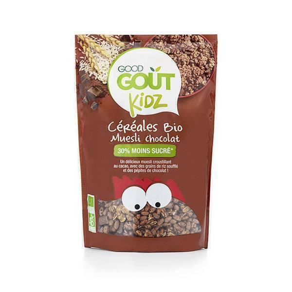 Good Gout - Céréales bio muesli chocolat 300g