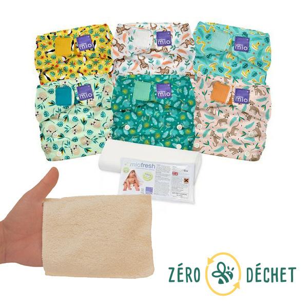 Packs Zéro Déchet - Pack découverte Zéro Déchet Change de bébé